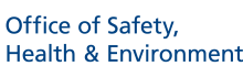 NUS Office of Safety, Health and Environment (OSH)